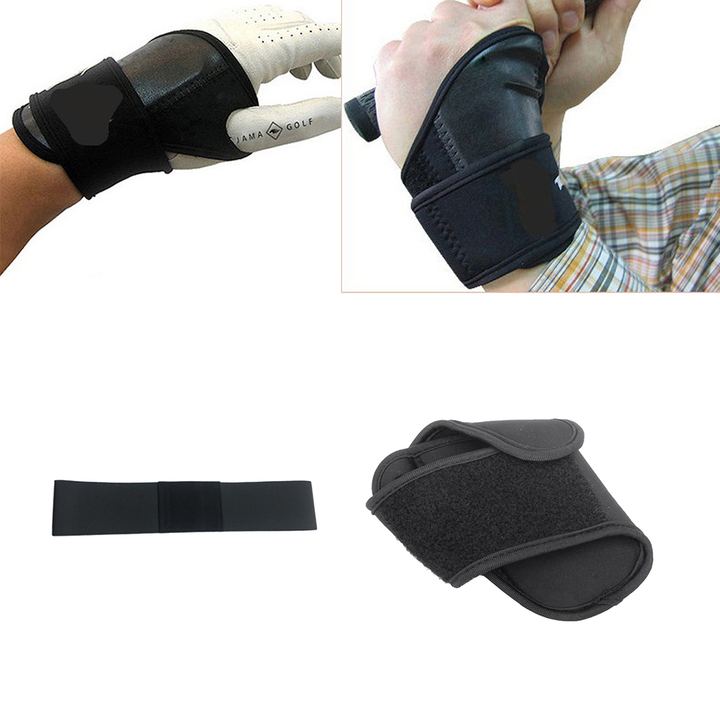 Golf Swing Trainer Aid Arm Belt Posture Motion Corrector with Wrist Brace Swing Trainer Beginner Band Practice Tool|Golf Training Aids| |  - title=