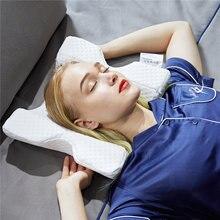 Пены памяти постельные принадлежности Подушка защита шеи медленное