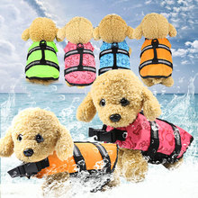 pet dog life vest safety life vest safety swimming clothe summer of swimming suit for outing comfortable and breathable life jac