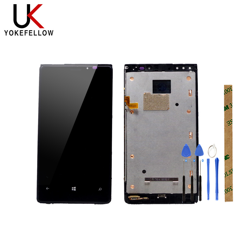 LCD Display For Nokia <font><b>Lumia</b></font> 920 RM-822 RM-821 RM-<font><b>820</b></font> LCD Display Digitizer <font><b>Screen</b></font> With Touch Complete Assembly image