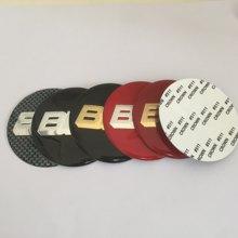 20 pçs 56mm 60mm 65mm 70mm 80mm centro da roda emblema do carro hub tampas emblema tampas adesivo estilo do carro acessórios automóveis