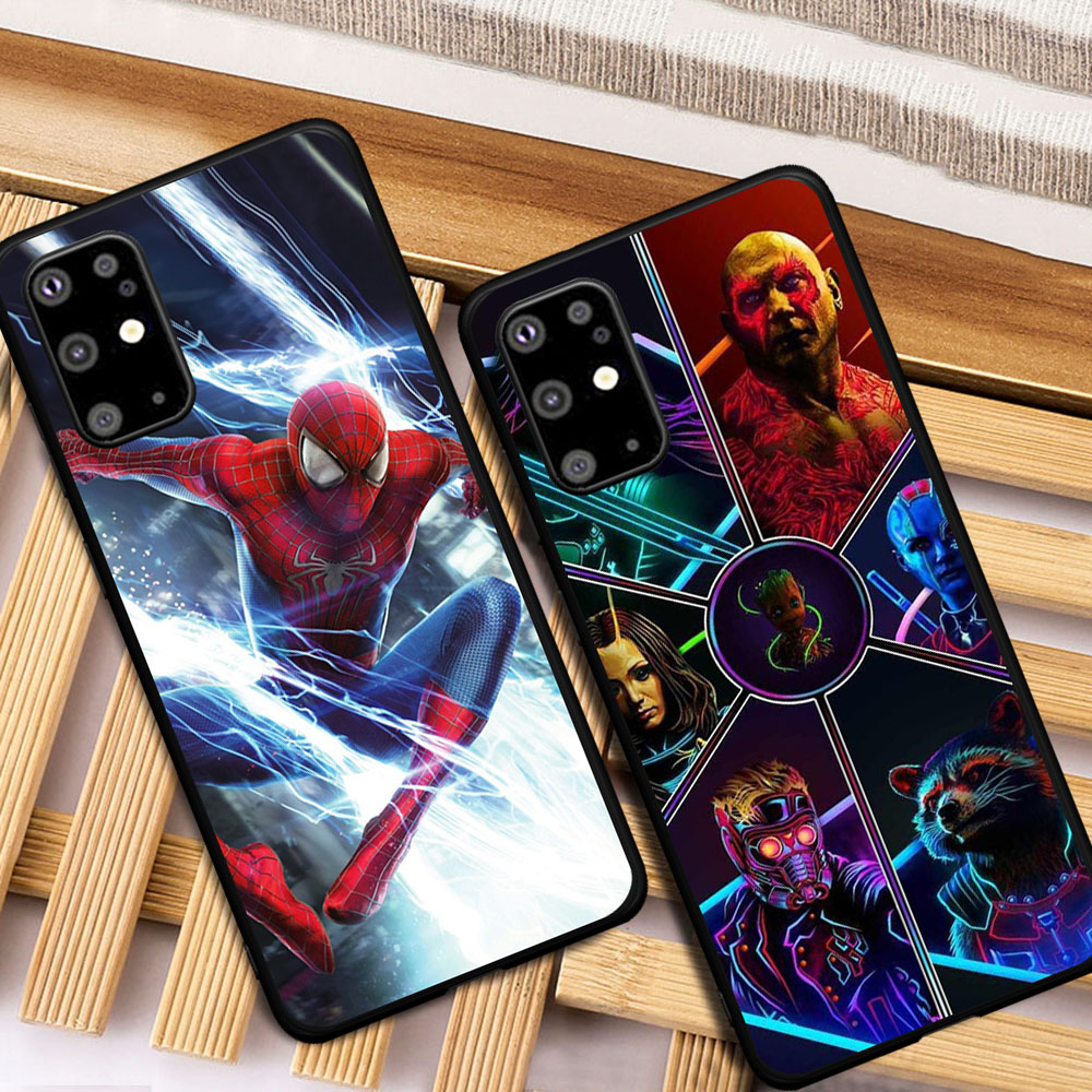 Cool Marvel Avengers Spider-Man Case For Samsung Galaxy S6 S7 Edge S8 S9 S10 Lite S20 Ultra Note 8 9 10 Plus M10 M20 M30 M40