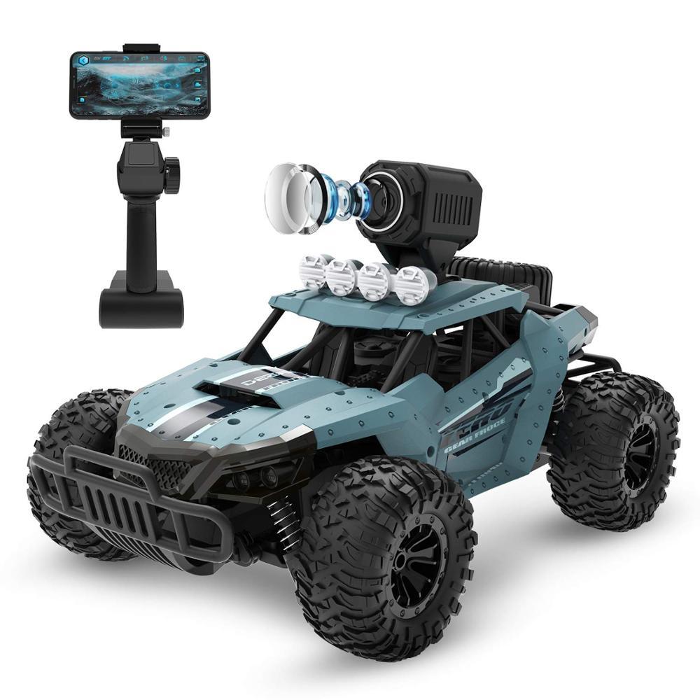 Oyuncaklar ve Hobi Ürünleri'ten RC Arabalar'de RC Araba ile 720P Kamera Tam Fonksiyonlu 4WD Radyo Kontrol Yüksek Hızlı Off road Araç 2.4Ghz Uzaktan Kumanda kontrollü Carros'da  Grup 1