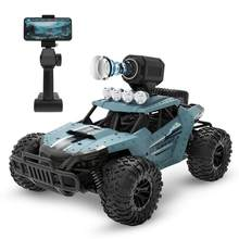 RC Car with 720P Camera Full Function 4WD Radio Control High Speed Off-road Vehicle 2.4Ghz Remote-controlled Carros(China)