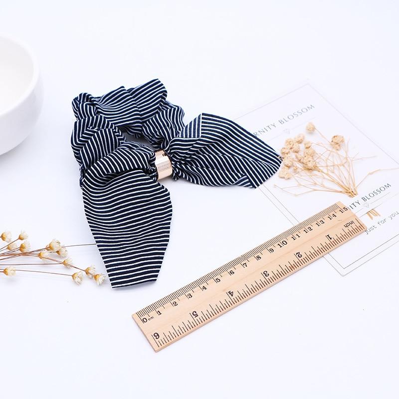 Cute-Rabbit-Ear-Striped-Hair-Accessories-Elastic-Hair-Band-Headwear-Hair-Rope-For-Women-Girls-Rubber