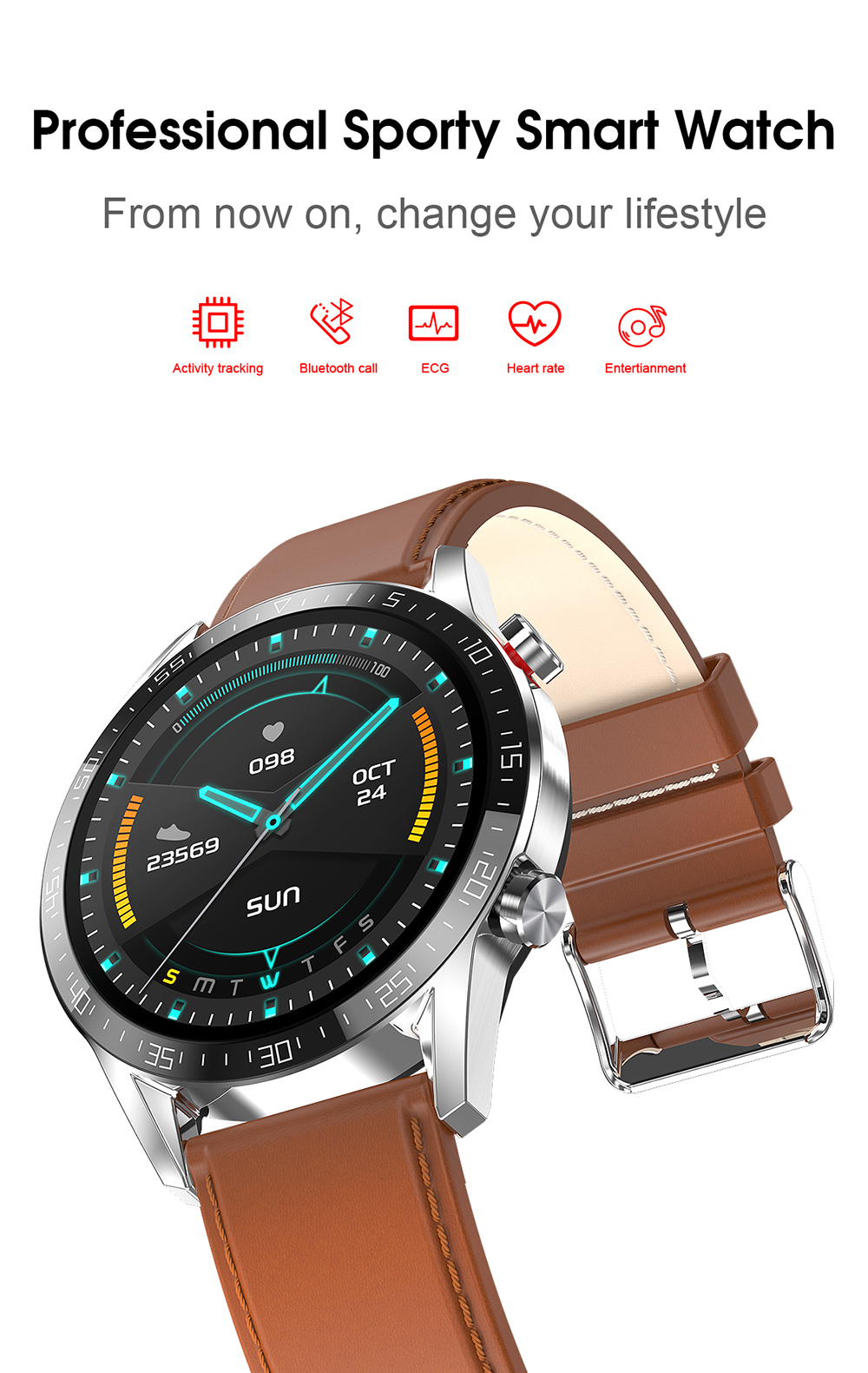 Hda83882c1def451e9e8dfa43c913acd6s Reloj Inteligente Hombre Smart Watch Men 2020 Android IP68 Smartwatch Answer Call Smart Watch Man For Huawei Android Apple Phone
