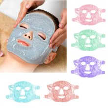 Face Skin Care Gel Ice Mask Pvc Plush Cold Hot Compress Beauty Mask Cooling And Removing Edema Ice Mask