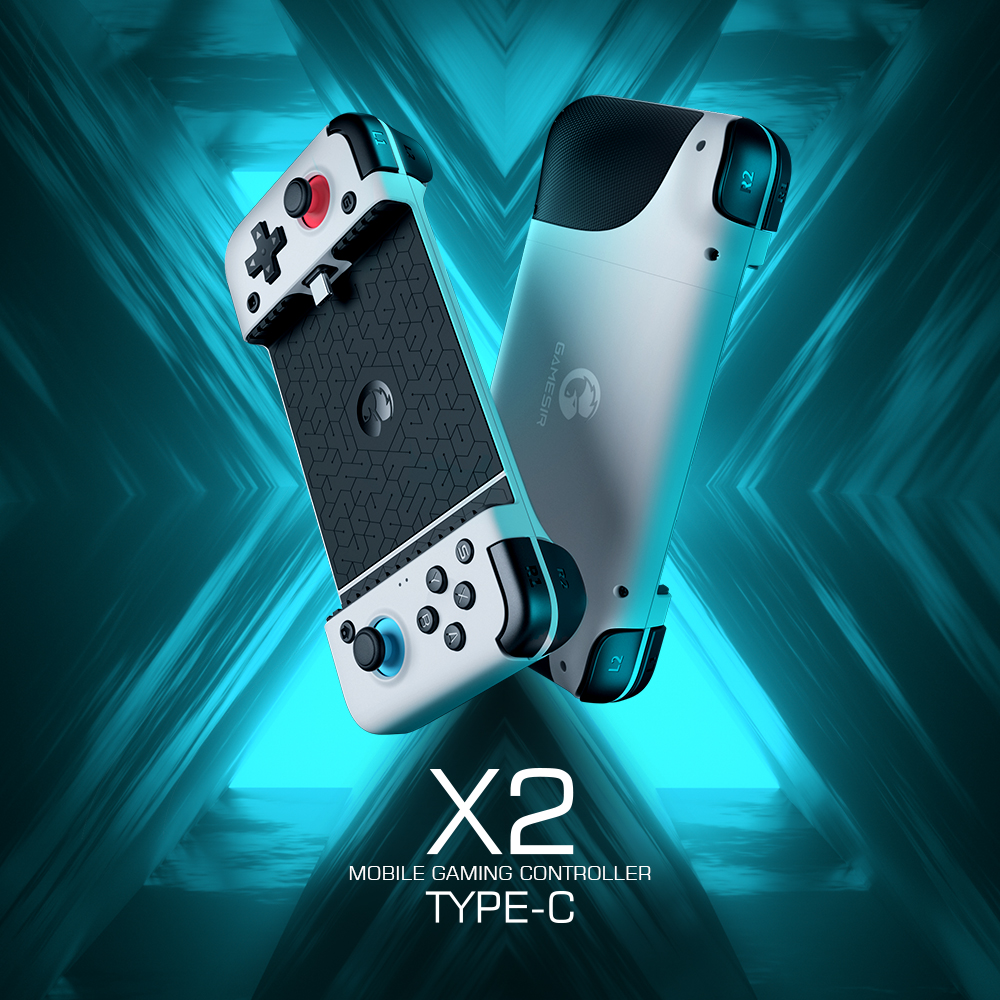 GameSir X2 Mobile Gamepad Game Controller for Xbox Game Pass, PlayStation Now, STADIA, GeForce Now, Cloud Gaming [All series]