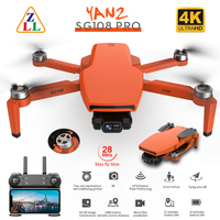 ZLRC SG108 Pro GPS Drone Mit 5G Wifi 2-Achsen Gimbal 4K HD Dual Kamera Bürstenlosen Optische fluss RC Quadcopter Mini Eders VS L108