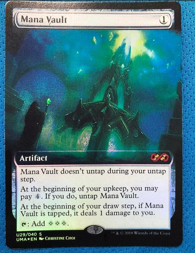 Mana Vault PUMA Foil Magician ProxyKing 8.0 VIP The Proxy Cards To Gathering Every Single Mg Card.