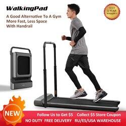 WalkingPad R1 Pro Laufband Faltbare Aufrecht Lagerung 10 Km/H Rennen Gehen 2in1 Kein Lärm APP Control Mit Handlauf Hause Workout