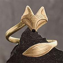 Милый стиль креативное открытие регулируемые женские кольца