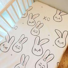 Простыня 1 шт.) матрас для детской кровати 1 шт. хлопок детская простыня для маленьких девочек и мальчиков 130x70 см 120x60 см детская кроватка