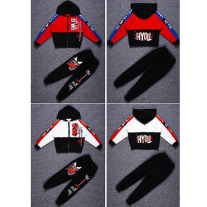 Image 4 - Frühling Kinder Jungen Kleidung Set Frühling Herbst Kinder Kleidung Set 4 6 8 10 12 13 14 Jahre Jungen Sport anzug Mode Kinder Kleidung