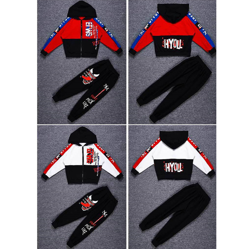 Image 4 - Spring Kids Boys Clothing Set Spring Autumn Kids Clothes Set 4 6 8 10 12 13 14 Years Boys Sports Suit Fashion Children ClothingClothing Sets   -