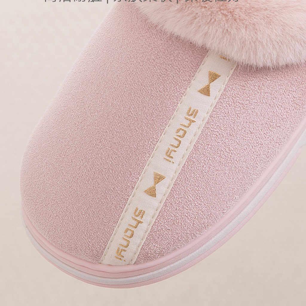 Nuovi pistoni delle Donne Donne di Grandi Dimensioni casual A Casa Più di Velluto Caldo Scarpe Comode Pantofole di Cotone Scarpe Da Donna di Marca di Lusso #11