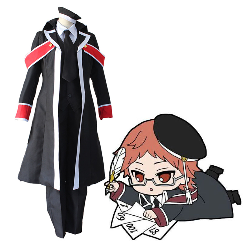 Anime The Royal Tutor Cosplay Costumes Heine Wittgenstein Costume Uniforms Halloween Party Oushitsu Kyoushi