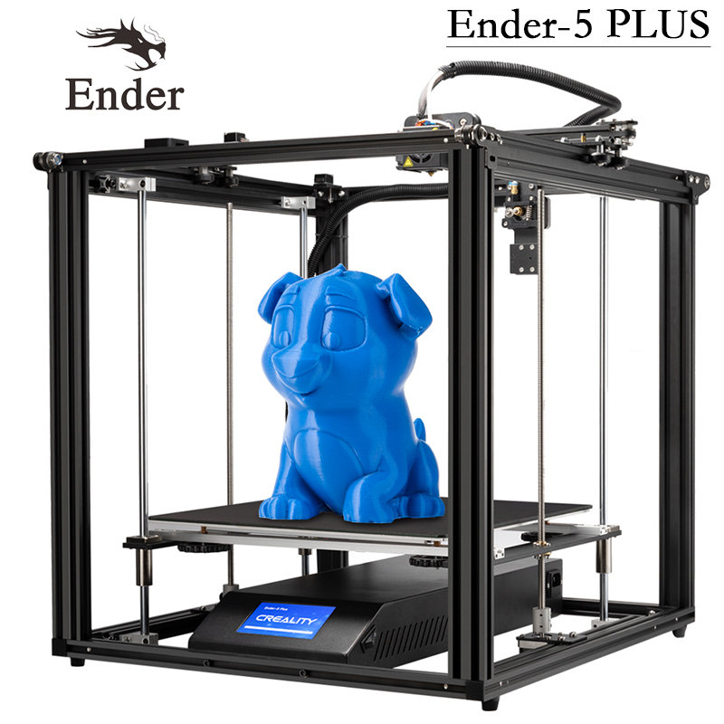 3d-Printer Auto-Leveling Creality 3d Power-Off-Resume Dual-Z-Axis Ender-5-Plus Large-Size title=