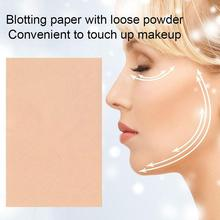 HOT 50sheets Tissue Papers Makeup Cleansing Oil Absorbing Paper Absorb Tool Cleanser Face  Blotting Face U7L7