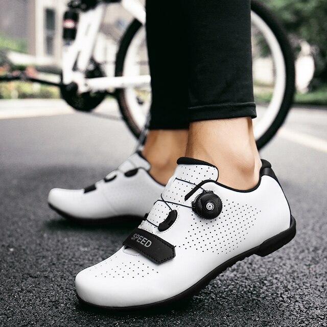 2020 novo estilo mtb ciclismo sapatos de corrida respirável sapatos de bicicleta de estrada auto-bloqueio profissional tênis de bicicleta sapatos esportivos 5