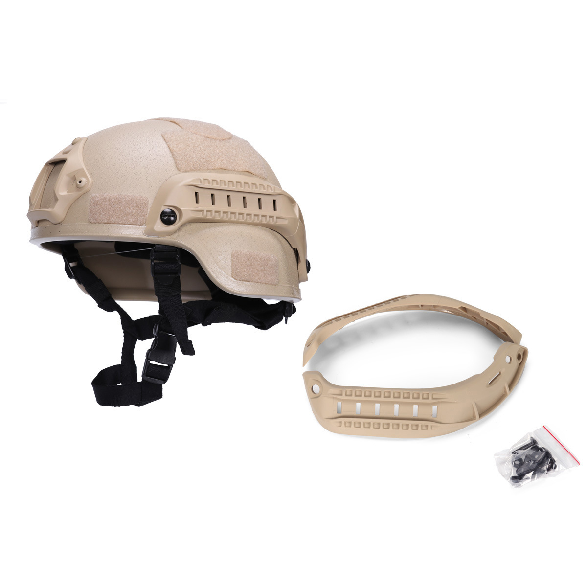Mich Mickey Tactical Helmet Side Rails System Tactical Helmet Parts Accessories Side Rails Rack