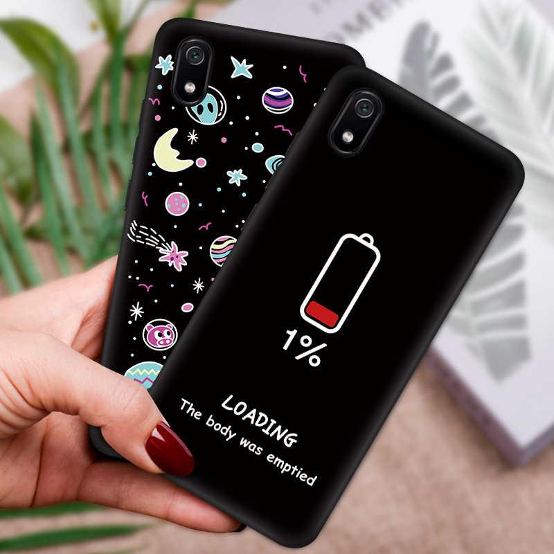 Telefon obudowa do Xiaomi czerwony mi uwaga 7 K20 Pro 7A 7 6 6A iść wzór silikonu obudowa do Xiaomi mi 9 SE 8 a3 A2 lite mi 9T Pro CC9 CC9E