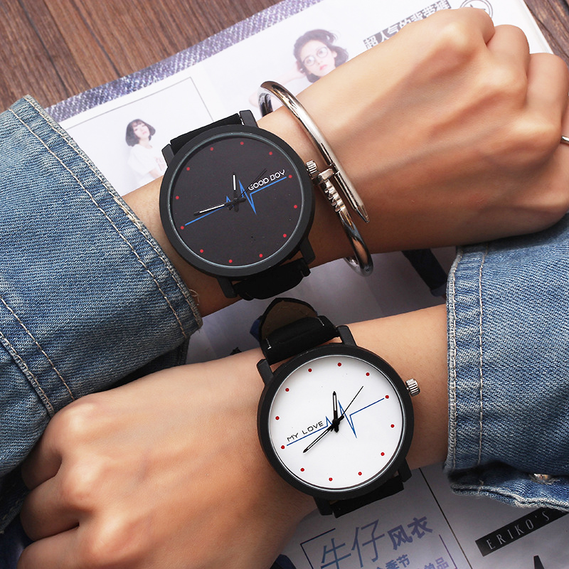 Fashion Women Wrist Watch Creative Quartz Ladies Wristwatches Clock Large Dial Leather Female Watches Hours Grils