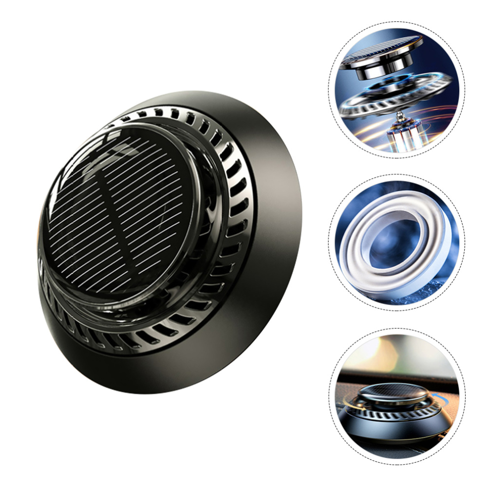 1 pc Car Aromatherapy Diffuser Creative Turbine Mini Air Freshener Interior Decor Car Perfume for Office
