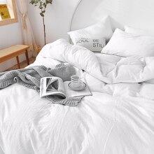 High-end 100% washed cotton duvet cover set