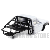 RC Car Back Half Cage Cab Body for 1/10 RC Crawler Axial SCX10 90046 Traxxas TRX4 Redcat GEN 8 Scout II