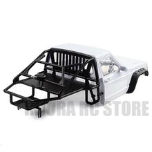 Rc Auto Back Half Kooi Cab Body Voor 1/10 Rc Crawler Axiale SCX10 90046 Traxxas TRX4 Redcat Gen 8 scout Ii