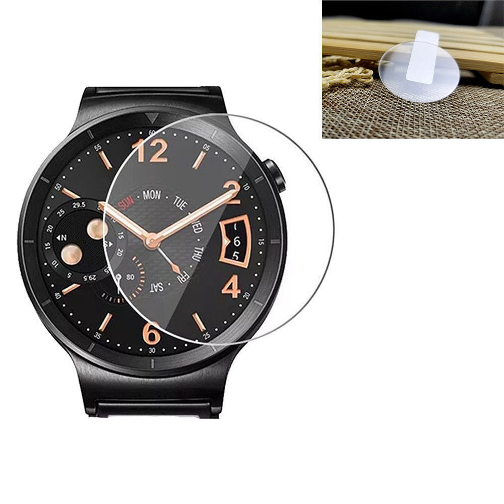9H 46mm Tempered Glass 2.5D Rounded Edge Screen Anti Fall Waterproof Protective Cover Screen Film For Samsung Galaxy Watch