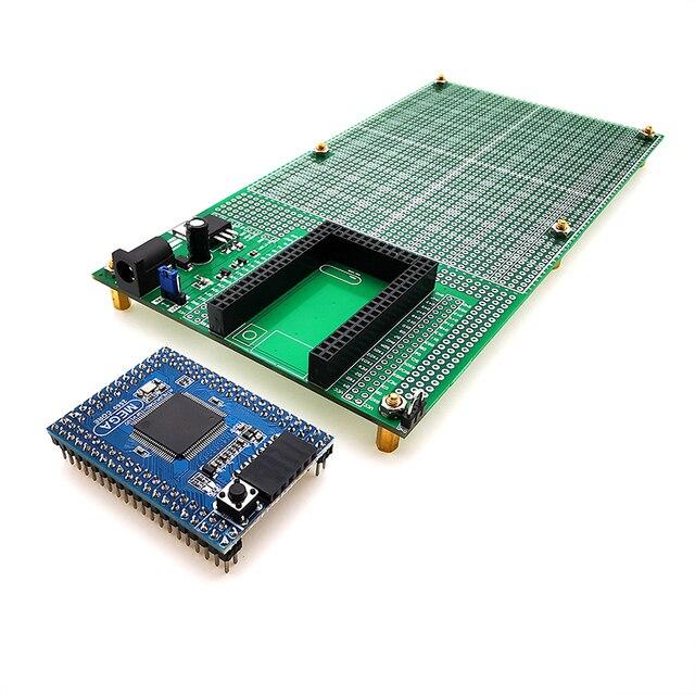 ダブルサイドプロトタイプ PCB ブレッドボード Diy 100 × 200 ミリメートル 4.096 ボルトとメガミニ 2560 キット