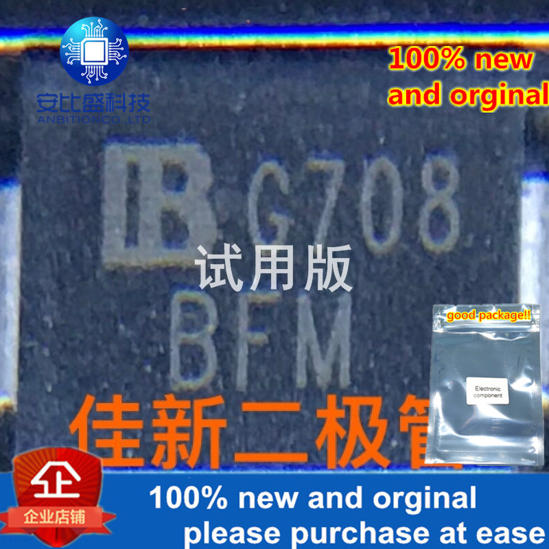 30pcs 100% New And Orginal SMCJ33CA  33V Bidirectional TVS Protection Diode DO214AB Silkscreen BFMin Stock