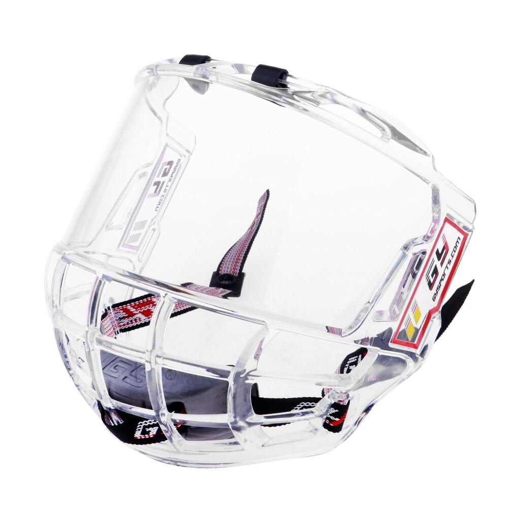 Professional Clear Visor Shield Anti-fog Anti-scratch for Ice Hockey Helmets