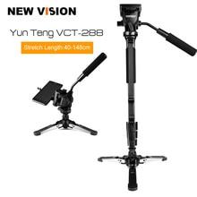 "Yunteng VCT 288กล้องMonopod +ของเหลวหัวกระทะ+ U Nipod H OlderสำหรับCanon NikonและDSLRทั้งหมดที่มี1/4 ""เมาจัดส่งฟรี"
