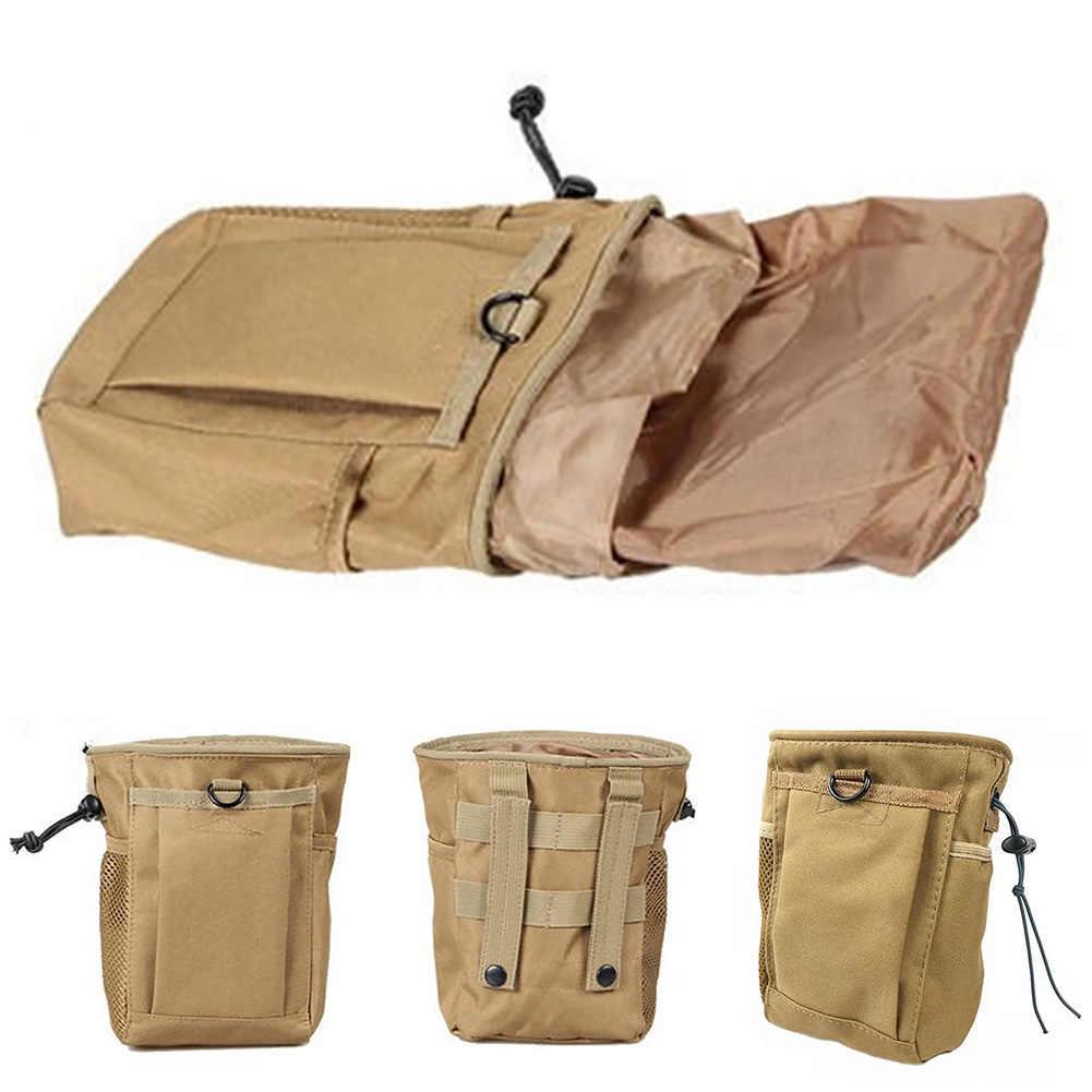 Paño Oxford impermeable táctico para acampar al aire libre herramienta de senderismo encuentra bolsa Paquete de cintura Cordón de Metal de detección multipropósito