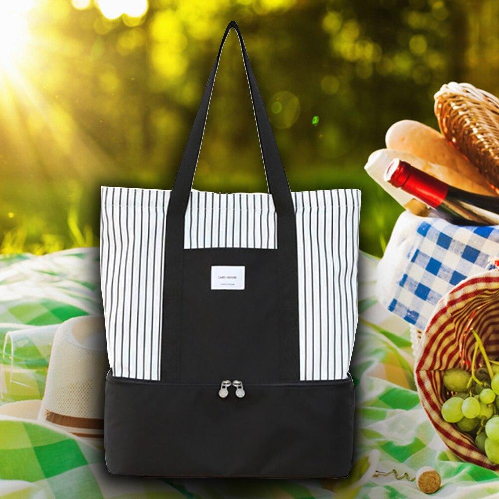 almoço saco piquenique caixa bolsa tote portátil