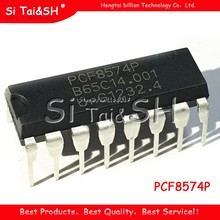 10PCS/lot PCF8574P DIP16 PCF8574 DIP Remote 8-bit I/O expansion I2C bus