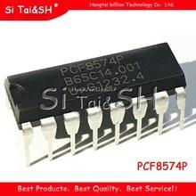 10 pièces/lot PCF8574P DIP16 PCF8574 DIP télécommande 8 bits e/s expansion I2C bus