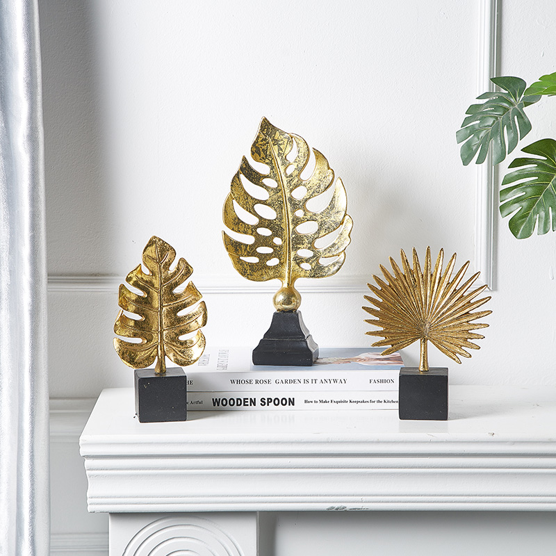 Creative Modern Golden Leaf Ornament 5