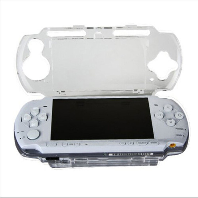 Clear Transparent Hard Case Protective Cover Shell for Sony PlayStation Portable PSP 2000 3000 console Crystal Body Protector