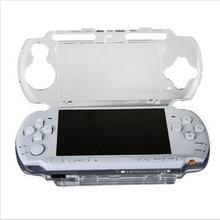 Funda rígida transparente para Sony PlayStation, funda protectora Portátil PSP 2000 3000, Protector de cuerpo de cristal para consola