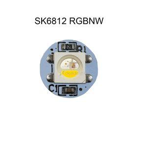 Image 2 - 10 500pcs 5050 SMD WS2812B RGB SK6812 RGBW LED 칩 미니 PCB 보드 (10mm * 3mm) 히트 싱크 블랙 화이트 PCB DC5V