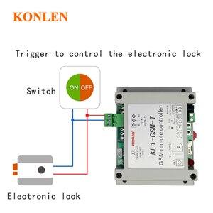 Image 2 - KONLEN חכם GSM ממסר בקר טמפרטורת חיישן SMS שיחת שלט רחוק בית אוטומציה כוח מתג שער פותחן מים משאבת
