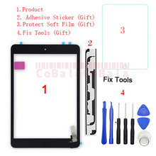 Sensor Button-Replacement Digitizer Glass-Panel A1490 Touch-Screen A1454 iPad Mini 2-A1432