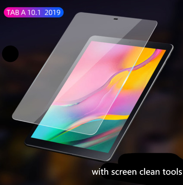 2 PCS Tempered Glass Screen Protector Film For Samsung Galaxy Tab A 10.1 2019 T510 T515 SM-T510 Tablet