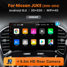 AWESAFE PX9 para Nissan Juke YF15 2010 - 2014 auto Radio Multimedia reproductor de Video GPS de navegación No 2 din 2din DVD Android 10
