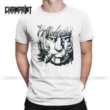 Men Cobra The Space Pirate T Shirt Psychogun Kobura Adventure Anime Cotton Tops Vintage Short Sleeve Tees New Arrival T-Shirt