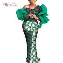 Африканская одежда; Модные кружевные платья в стиле пэчворк